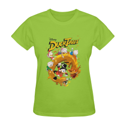 DuckTales Sunny Women's T-shirt (Model T05)