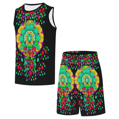 Rain meets sun in soul and mind All Over Print Basketball Uniform