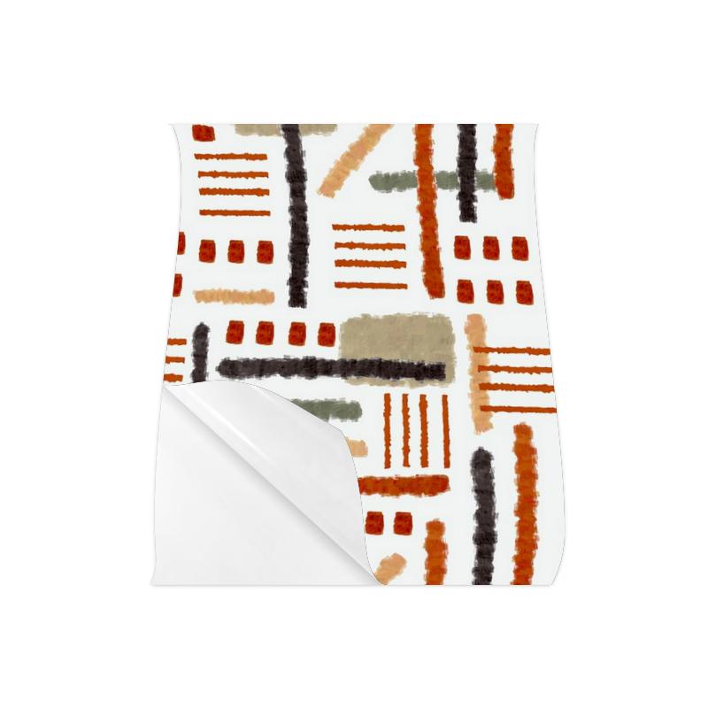 "Abstract Art Geometric Brushstroke Poster 20""x24"""