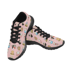 pink Women's Running Shoes (Model 020)