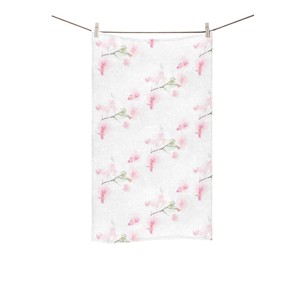"""Pattern Orchidées Custom Towel 16""""x28"""""""