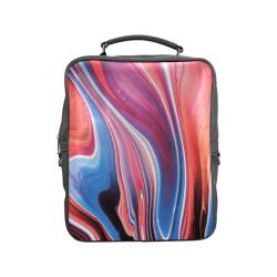 oil_b Square Backpack (Model 1618)