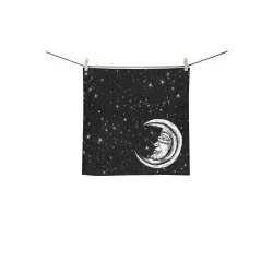 "Mystic Moon Square Towel 13""x13"""