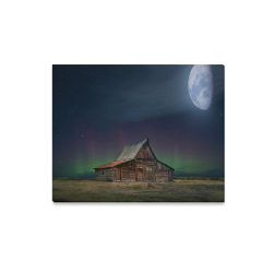"Moonlit Country Dream Canvas Print 20""x16"""