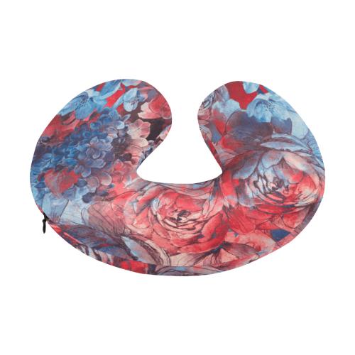 flowers3sm U-Shape Travel Pillow