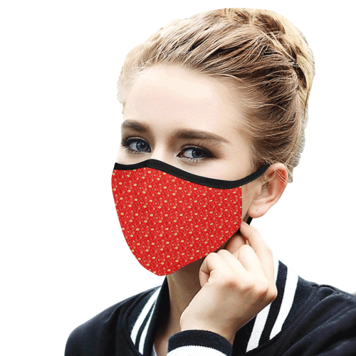 41lf Mouth Mask in One Piece (2 Filters Included) (Model M02) (Non-medical Products)