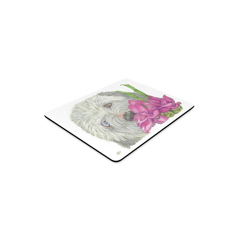 Ginger Surprises - white Rectangle Mousepad