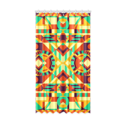 "Modern Geometric Pattern Window Curtain 52"" x96""(One Piece)"