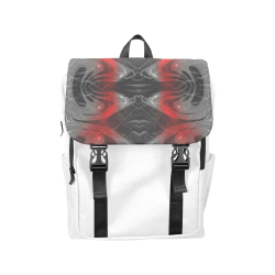 xxsml Red Voice Crew Casual Shoulders Backpack (Model 1623)