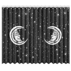 "Mystic Moon Window Curtain 50""x84""(Two Piece)"
