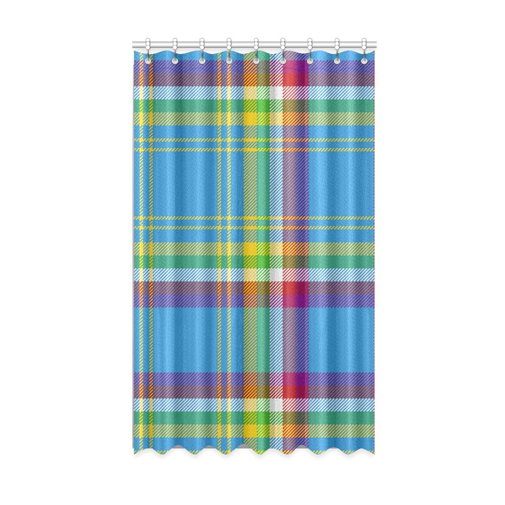 "Yukon Tartan Window Curtain 50"" x 84""(One Piece)"