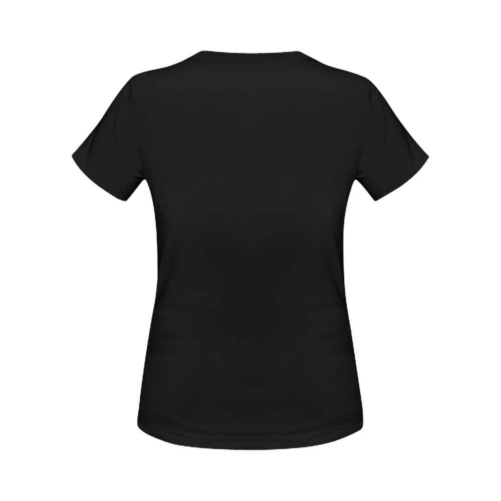 cool sh#t logo girlz Women's Classic T-Shirt (Model T17)