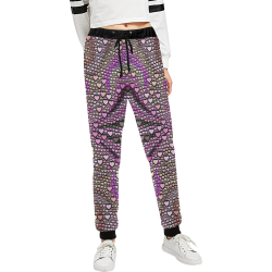 hearts everywhere C by JamColors Women's All Over Print Sweatpants (Model L11)