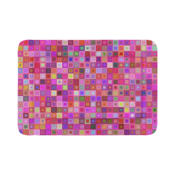 "Pink Squares Pet Bed 54""x37"""