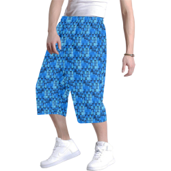 Graphic illusion Men's All Over Print Baggy Shorts (Model L37)