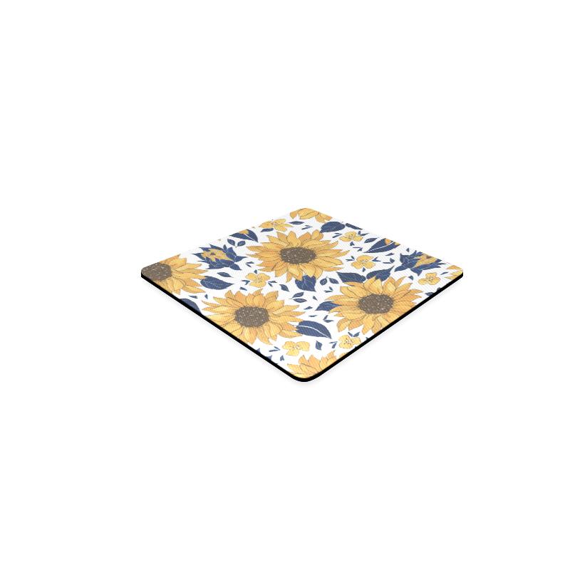 Sunflowers Square Coasters Square Coaster