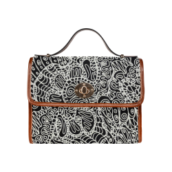 Doodle Style G361 Waterproof Canvas Bag/All Over Print (Model 1641)