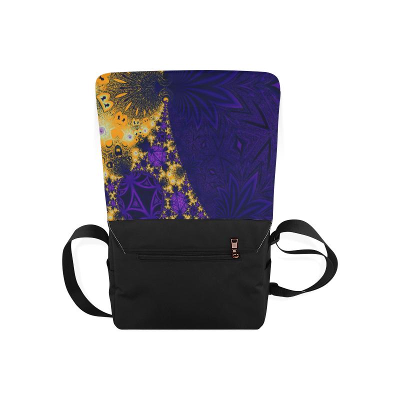 Twilight Jungle Leaves Messenger Bag (Model 1628)