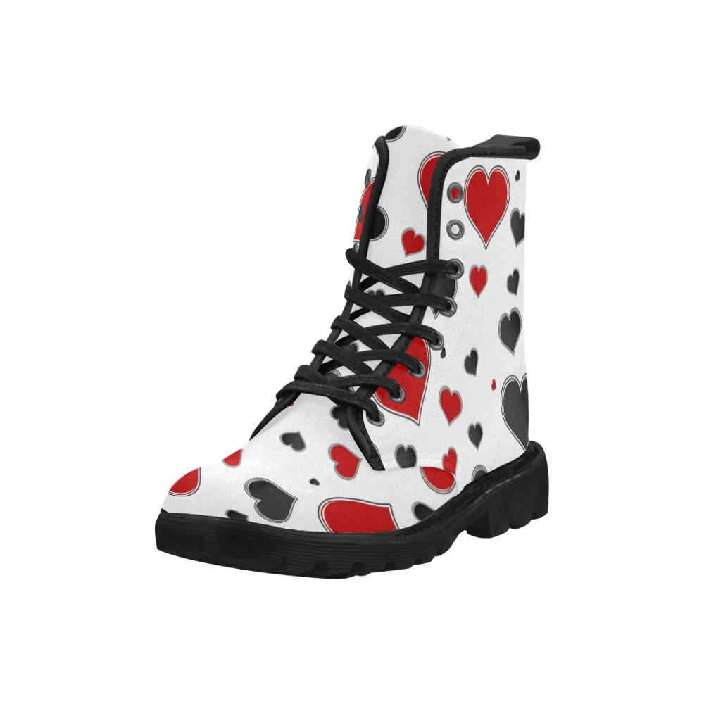 14rb Martin Boots for Men (Black) (Model 1203H)