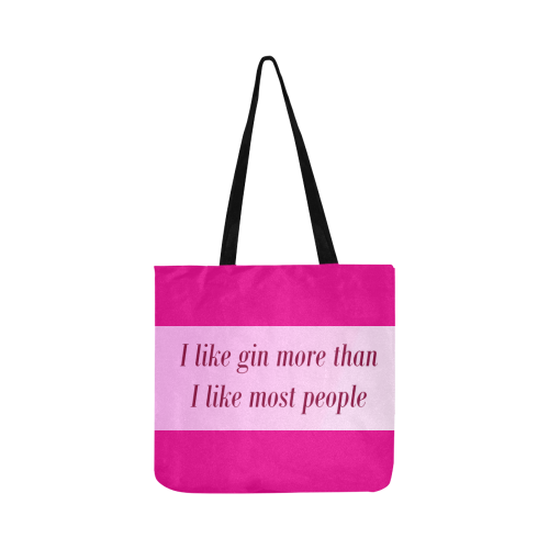 gin Reusable Shopping Bag Model 1660 (Two sides)