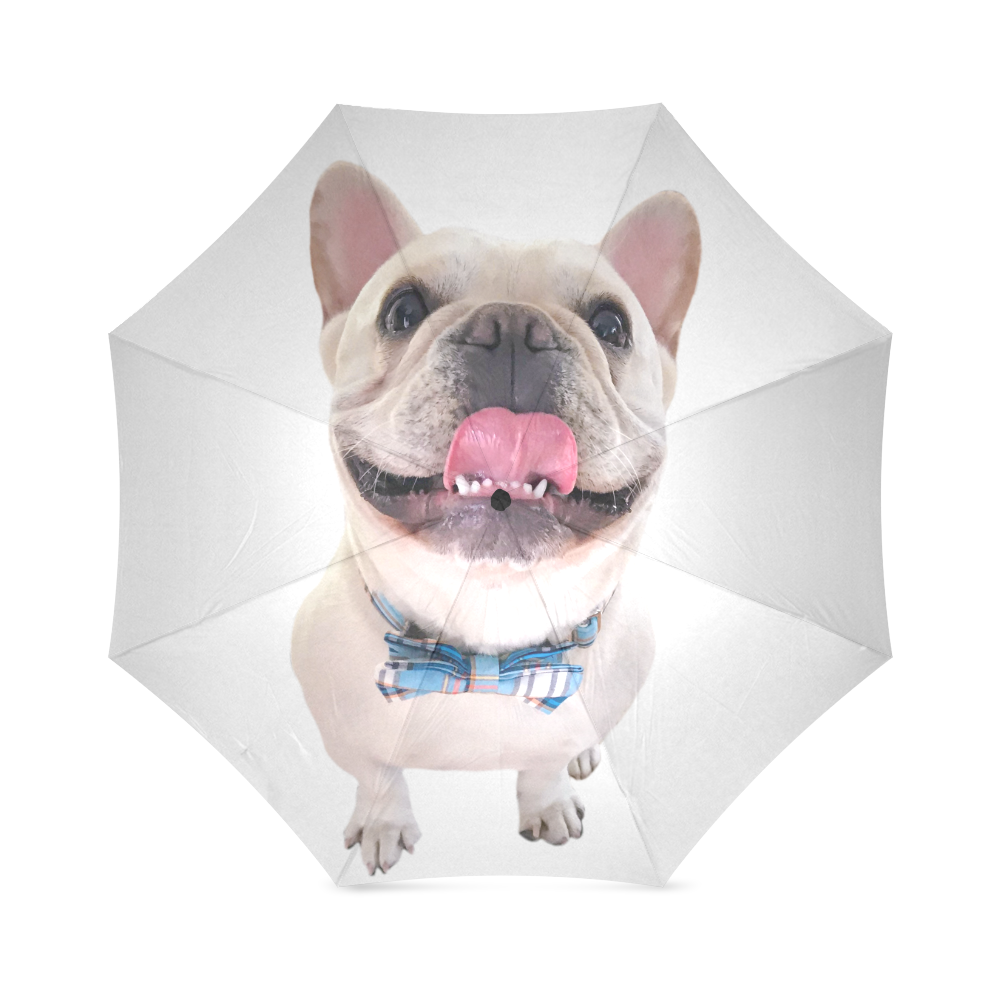 Dapper Frenchie Umbrella Foldable Umbrella (Model U01)