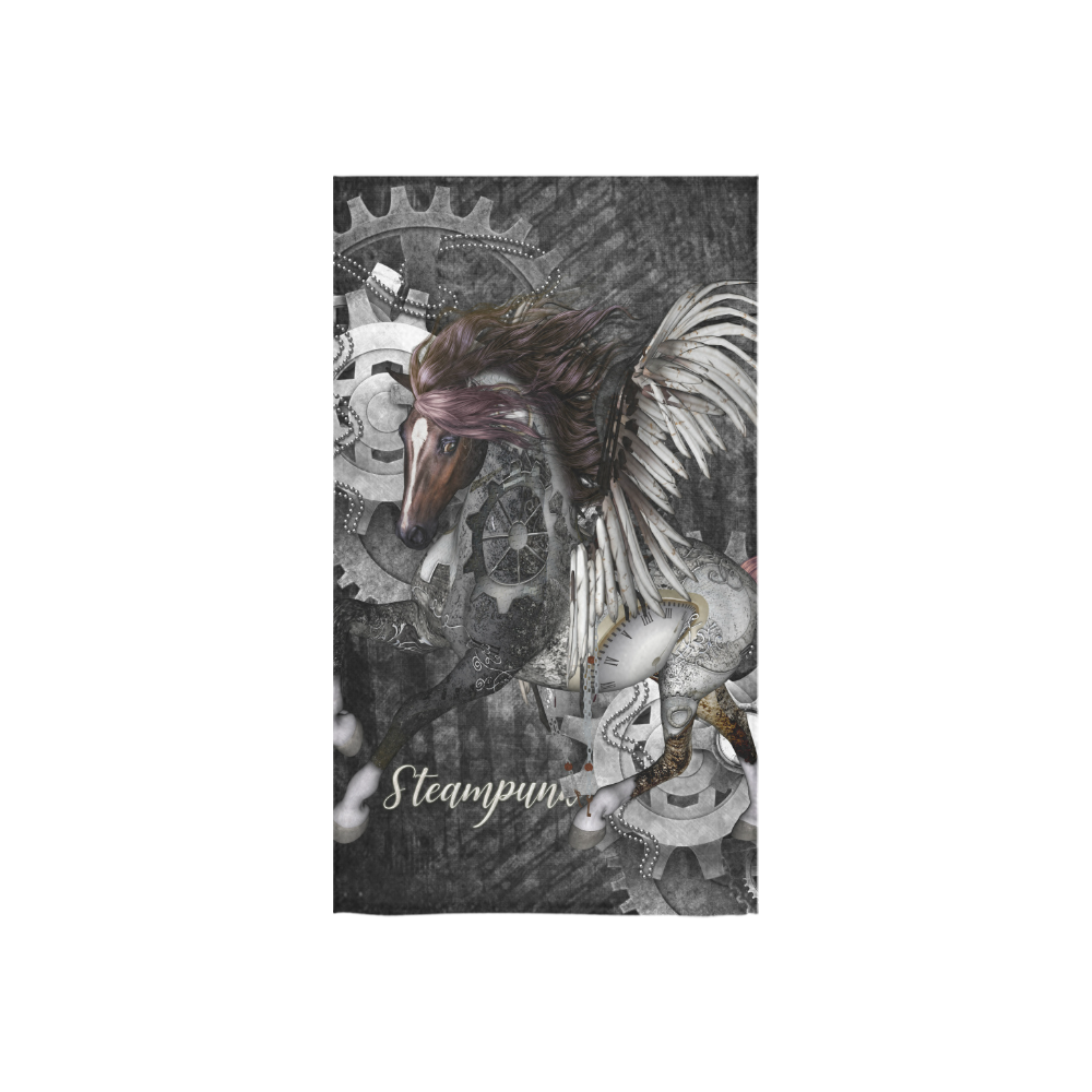 """Aweswome steampunk horse with wings Custom Towel 16""""x28"""""""
