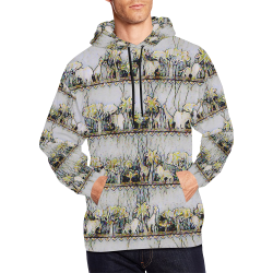 On a Shelf All Over Print Hoodie for Men (USA Size) (Model H13)
