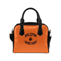 HillTop Grind Hard orange Purse Shoulder Handbag (Model 1634)