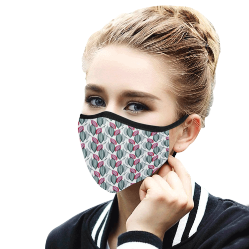 34et Mouth Mask in One Piece (2 Filters Included) (Model M02) (Non-medical Products)