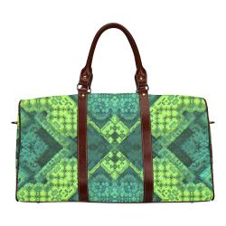 3D Mosaic Waterproof Travel Bag/Small (Model 1639)
