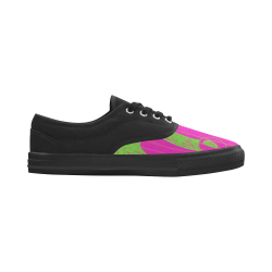 127-ConjuinedSlugs Aries Women's Canvas Shoes (Model 029)
