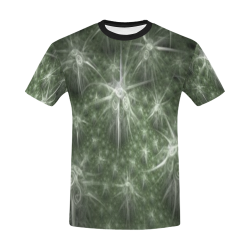 Fractal flash All Over Print T-Shirt for Men/Large Size (USA Size) Model T40)