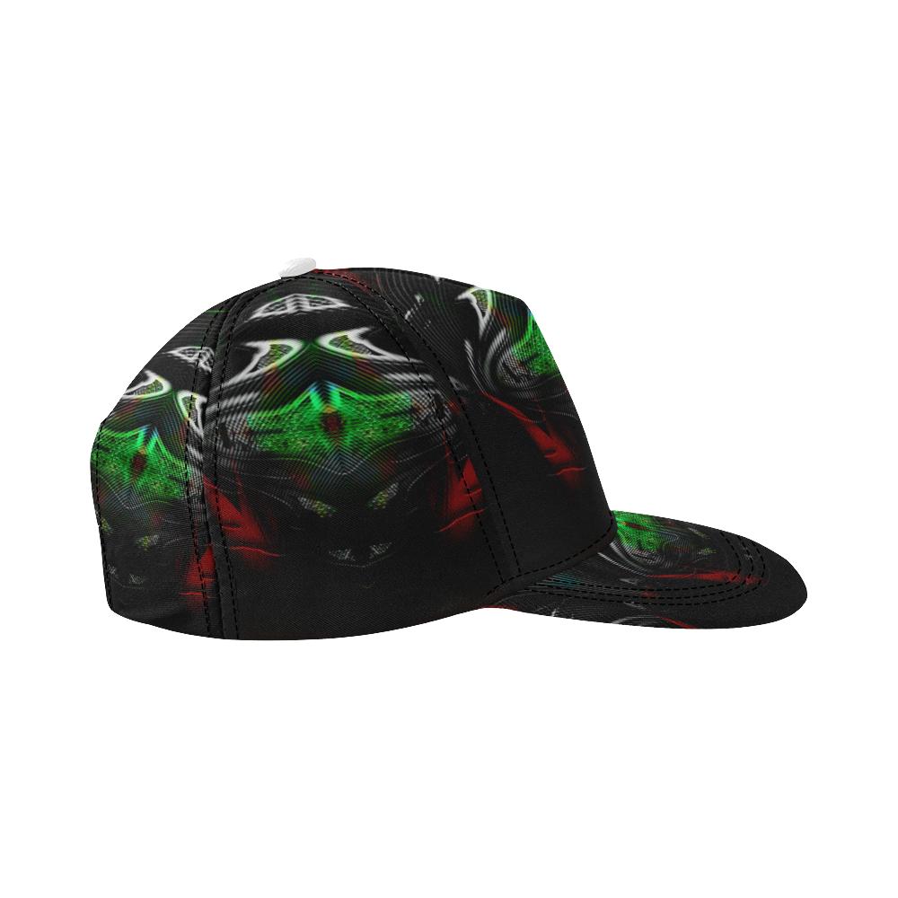 5000DUBLE 2 All Over Print Snapback Hat D