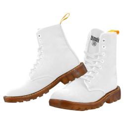 ILL DOCK White Martin Boots For Men Model 1203H