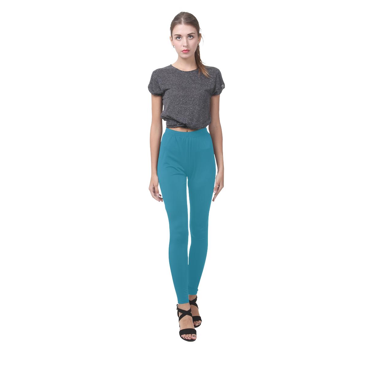 Mosaic Blue Cassandra Women's Leggings (Model L01)