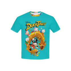DuckTales Kids' All Over Print T-shirt (USA Size) (Model T40)