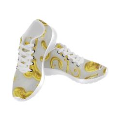 Gold Heart Women's Running Shoes (Model 020)