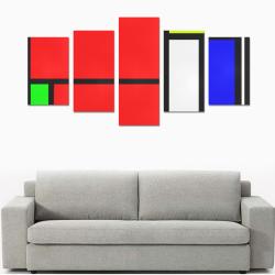 Celebrating Mondrian Canvas Print Sets C (No Frame)