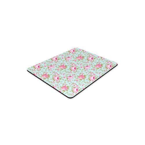 Peony Pattern Rectangle Mousepad