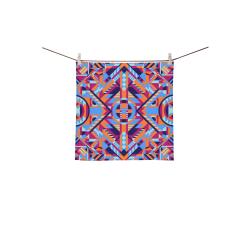 "Modern Geometric Pattern Square Towel 13""x13"""