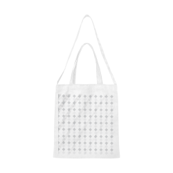 Checker bag Canvas Tote Bag/Medium (Model 1701)