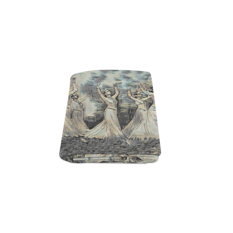 "Armenian Dancers Classic Blanket 40""x50"""