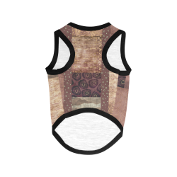 African Python Patchwork All Over Print Pet Tank Top