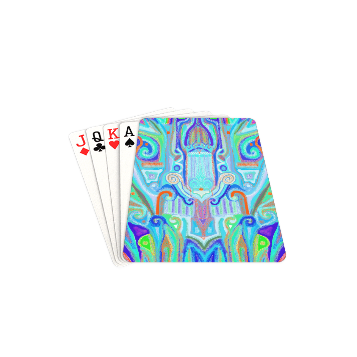 """cover 7 Playing Cards 2.5""""x3.5"""""""