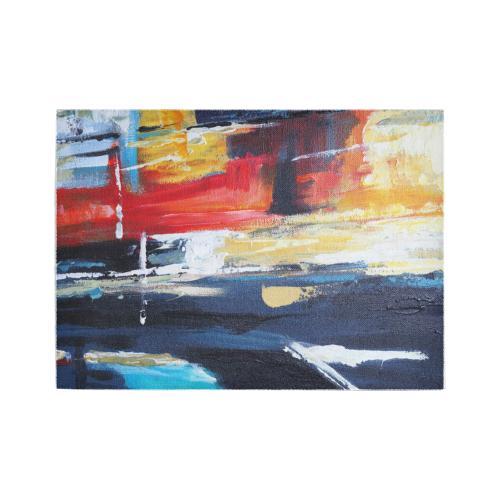 Abstracct Painting Area Rug Area Rug7'x5'