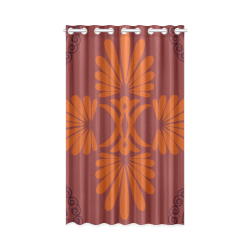 "greek ornament New Window Curtain 50"" x 84""(One Piece)"