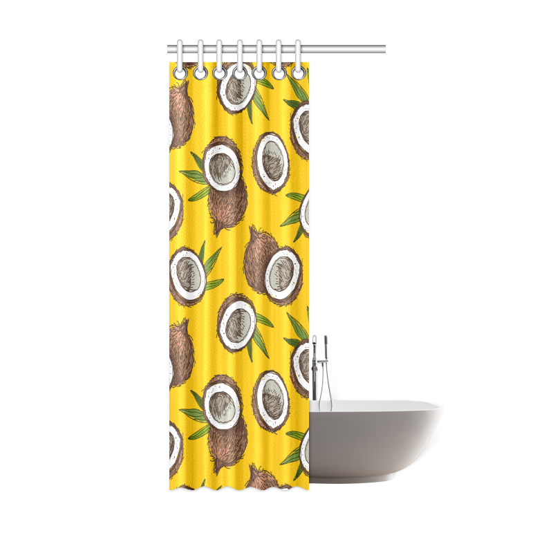 """coconuts Shower Curtain 36""""x72"""""""
