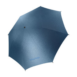 Fairlings Delight's Parasol Collection- Steel Blue 53086 Semi-Automatic Foldable Umbrella (Model U05)