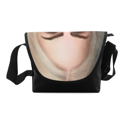 blonde girl with open mouth Crossbody Bag (Model 1631)