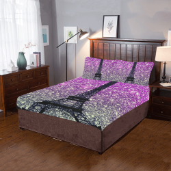 glitter efil 3-Piece Bedding Set